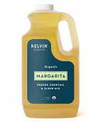 Kelvin Slush Co. - Margarita - Organic Frozen Cocktail & Slush Mix - Award-Winning Slush Machine & Blender Mix, Bars, Restaurants, At Home (64 oz bottle)