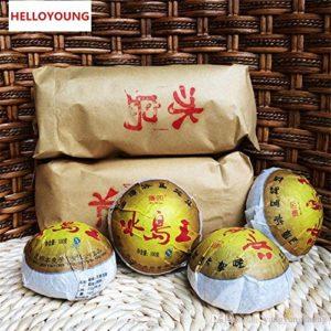 2012 year Yunnan Pu'er tea raw puer tea 100g Iceland Wang sheng puerh Tuo tea puerh 100g