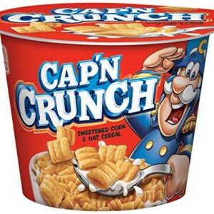 Cap'n Crunch Breakfast Cereal, 12 Individual Cups
