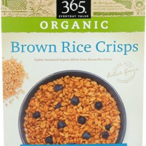 365 Everyday Value, Organic Brown Rice Crisps, 12 Ounce