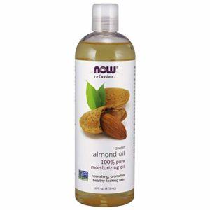 NOW Solutions, Avocado Oil, 100% Pure Moisturizing Oil, Nutrient Rich and Hydrating, 16-Ounce