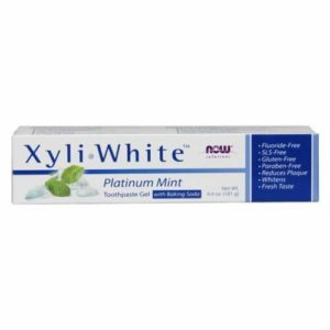 Now Solutions, Xyliwhite™ Toothpaste Gel for Kids, Bubblegum Splash Flavor, Kid Approved! 3-Ounce