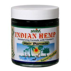 Madina Indian Hemp HAIR POMADE Moisture Natural Organic Split Ends Dry Breakage – 2 Jars
