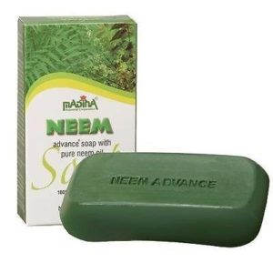 Madina Neem Advance Bath Soap Herbal Natural 100% Vegetable Base Halal Organic