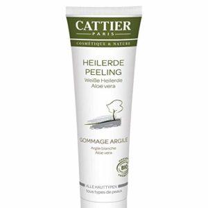 Cattier Organic White Clay Face Scrub With Aloe Vera 100 ml