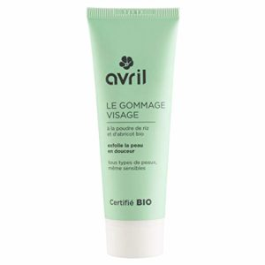 AVRIL - Organic Face scrub - Gently refines the structure of the skin - Suitable for all skin types - Also suitable for very sensitive skin - Removes impurities - Ensures a soft skin feel - 50 ml