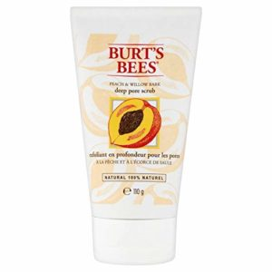 Burt's Bees Peach & Willowbark Deep Pore Scrub (110g) - Pack of 2