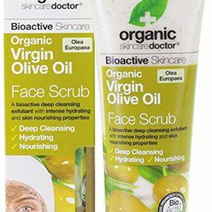 Organic Doctor Organic Virgin Olive Oil Face Scrub-125 ml Cream