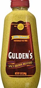 Gulden's, Spicy Brown Mustard, 12oz Bottle (Pack of 2)