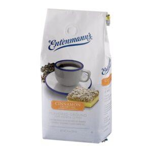 Entenmann's Ground Coffee, Cinnamon Crumb Cake, 10 Ounce
