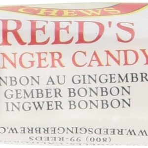 Reed's Ginger Candy Chews - 2lb Bag