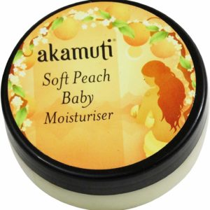 AKAMUTI Soft Peach Baby Moisturiser Makes Baby´s Skin Soft & Smooth!