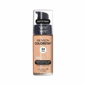 Revlon ColorStay Liquid Foundation For Combination/oily Skin, SPF 15 Nude, 1 Fl Oz