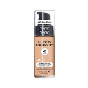 Revlon ColorStay Liquid Foundation For Normal/dry Skin, SPF 20, Nude, 1 Fl Oz