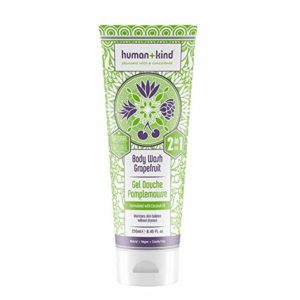 Human+Kind Shower Mousse | Lather and Cleanse Skin with Puffs of Fluffy Foam | Nourishes Dry Skin with Coconut Oil | Natural, Vegan Skin Care | Coconut Dream - 6.76 fl oz