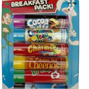 Taste Beauty Smiles You Can Taste - 6 Candy-Flavored Lip Balms (Breakfast Pack)