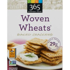 365 Everyday Value, Woven Wheats, Baked Crackers, 7 oz