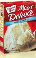 Duncan Hines Signature French Vanilla Cake Mix, 16.5-Ounce Boxes (Pack of 3)