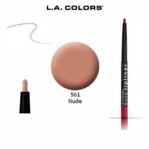 3-Pack L.A. Colors Auto Lip Liner Pencil Retractable 561 Nude