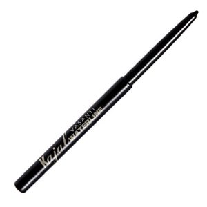 Kajal Waterline Eyeliner by VASANTI - Intense Black - Safe for Use on Waterline and Tightline (Upper Waterline) - Ophthalmologist Tested and Approved - Paraben Free, Vegan Friendly, Cruelty Free