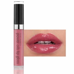 Power Oils Lip Gloss by VASANTI - Full Coverage with Non-Sticky Shine - Infused with Lip Nourishing and Hydrating Power Oils - Paraben Free, Vegan Friendly, Never Tested on Animals
