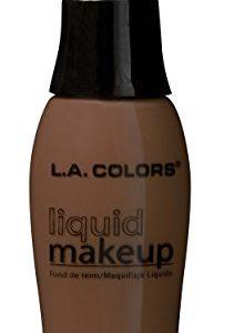 L.A. Colors Pump Liquid Makeup, Black Walnut
