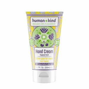 Human+Kind Lip Balm Trio - Orange, Vanilla, and Raspberry | Moisturize, Soften, and Smooth Dry, Chapped Lips | Vitamin E-rich Formula is Perfect for Sensitive Skin | Natural, Vegan Skin Care | 3-Pack