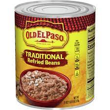 Old El Paso Refried Large Beans, 31-Ounce (Pack of 12)