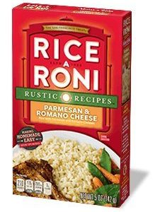 Rice A Roni, Parmesan & Romano Cheese Flavored Rice, 5oz Box (Pack of 6)