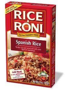 Rice A Roni, Spanish Rice, 6.8oz Box (Pack of 6)