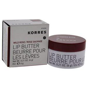 Korres Lip Butter - Wild Rose By Korres for Women - 0.21 Oz Lip Balm, 0.21 Oz