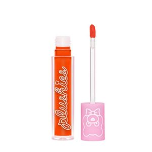 Lime Plushies Liquid Lipstick (Orange Juice). Sheer Long Lasting Liquid Lipstick in Juicy Orange. (0.11 fl oz / 3.5 ml)