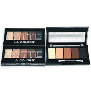 (3 Pack) L.A. Colors Matte Eyeshadow - Brown Tweed