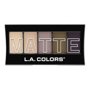 (3 Pack) L.A. Colors Matte Eyeshadow - Natural Linen