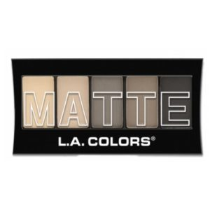 (3 Pack) L.A. Colors Matte Eyeshadow Nude Suede