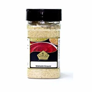 Cerez Pazari Ground Mahlab (Mahlepi - Mahaleb- Mahlep) Mahleb Ground, %100 Natural, Premium Quality, No Additives or Preservatives, Aromatic Traditional Spice for Pastry and Baking 150 gr- 5.2 Oz
