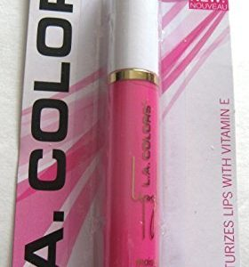 L.A. Colors Moisturizing Lip Gloss Paradise Pink