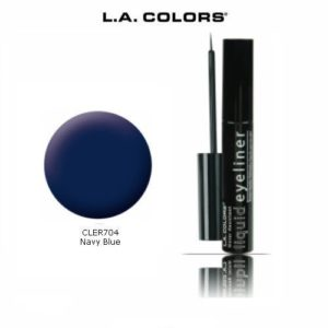 3 Pack L.A. Colors Liquid Eyeliner 704 Navy Blue