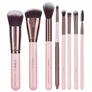 Luxie Complete Face Makeup Brush Set