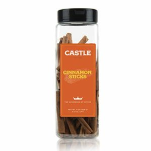 Castle Foods | Korintje Cinnamon Sticks, 8 oz Premium Restaurant Quality