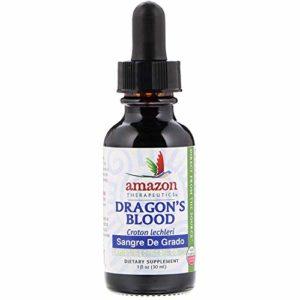 Sangre de Grado - Dragon's Blood (1oz) Wild Crafted - Gluten Free - Keto Friendly - Vegan Certified - Non-GMO - Certified Organic - All Natural - Kosher