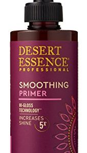 Desert Essence Smoothing Primer - 6.5 Fl Oz - Hi-Gloss Technology - Increases Shine 5x - Smooth and Sleek Hair - Apple Cider Vinegar - Quinoa Protein - Tea Tree Oil - Complete Hair Care
