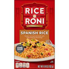Rice-A-Roni SPANISH RICE 6.8oz (2 pack)
