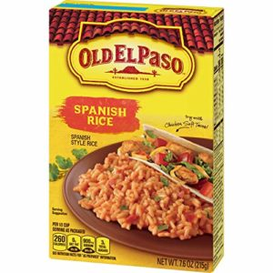Old El Paso Boxed Spanish Rice Sides 7.6 oz Box (pack of 12)