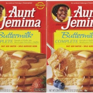 Aunt Jemima Buttermilk Complete Pancake Mix - 32 oz - 2 pk
