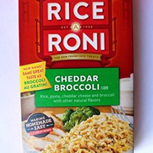 Rice A Roni, Cheddar Broccoli, 6.5oz Box (Pack of 6)