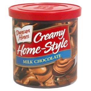 DUNCAN HINES MILK CHOCOLATE FROSTING 8/16 OZ