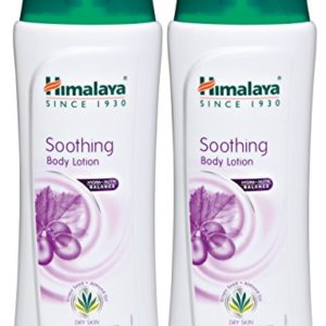 Himalaya Soothing Body Lotion (2 Pack) for Dry Skin, with Grape Seed and Almond Oil, Soothes and Moisturizes 13.53 oz (400 ml)