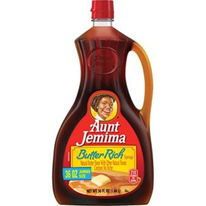 Aunt Jemima Rich Syrup, Butter, 36 Ounce