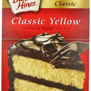 Duncan Hines Signature Yellow Cake Mix, 16.5-Ounce Boxes (Pack of 6)